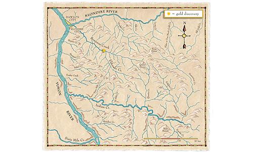 dawson map