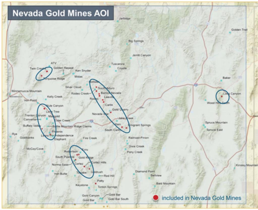 nevada explorers gold mines