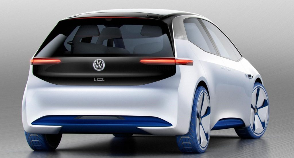 VW electric cars